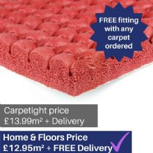 Red Acoustic Supreme carpet underlay